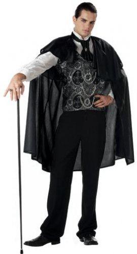 Victorian Vampire Adult Costume Size: Medium