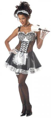French Maid  Fi Fi Le Flirt Adult Costume Size: Medium #00794