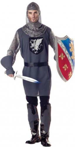 Medieval Renaissance Valiant Knight Adult Costume Size: Large #01153