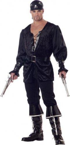 Blackheart the Pirate Carribean Buccaneer Adult Costume Size: Medium #01542