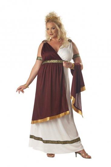 300 Roman Empress Greek Adult Plus Size Costume: 2X-Large #01673