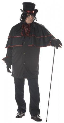 Night Stalker Vampire Dracula Adult Plus Size Costume #01652
