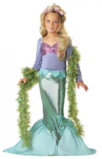 Ariel Little Mermaid Child Costume Size: X-Small #00246