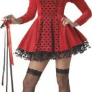 Dark Queen of Hearts  Adult Costume Size: Small #00936
