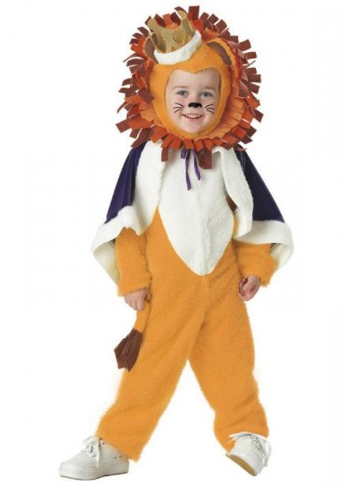 Lion King of the Jungle Toddler Costume Size: Medium #00027
