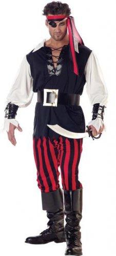 Cutthroat Pirate Adult Costume Size: Medium #01318