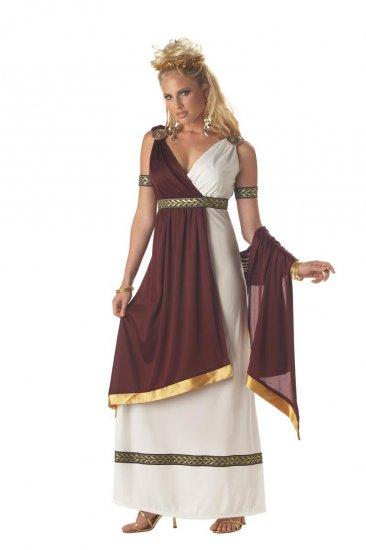 Greek Roman Empress 300 Adult Costume Size: Small # 01069