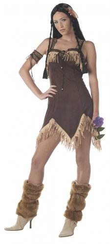Sexy Indian Princess Thanksgiving Pocahontas Adult Costume Size: Medium #00940