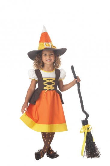 Witch Sweet Treat  Toddler Costume Size: Large