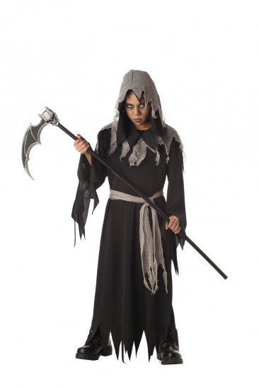 Gothic Monk Shredded Robe Child Costume Size: Large #00332