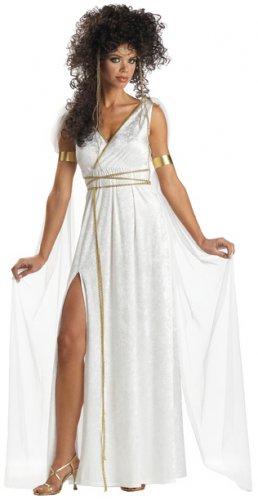 Greek  Athenian Goddess  300 Adult Costume Size:  X-Large #00751