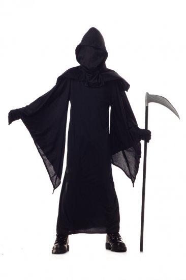 Horror Robe Grim Reaper Child Costume Size: Large #00570