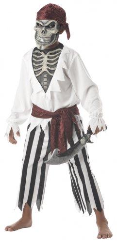 Pirate Barnacle Bones Child Costume Size: Large #00308