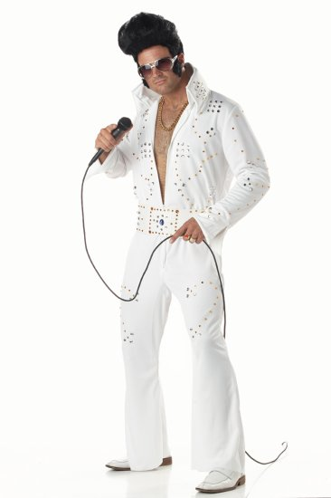 Elvis Presley Rock Legend Adult Costume Size: Large #00958