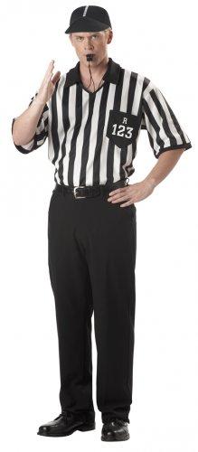 Referee Shirt Adult Costume Size: X-Large #00912