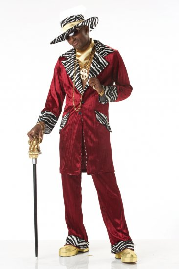 Sweet Daddy Beaujolais Pimp Adult Costume Size: Medium #00819