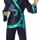 Jewel Dragon Stealth Ninja Kung Fu Child Costume Size: Medium #00206