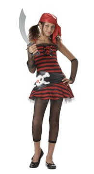 Pirate Cutie Buccaneer Tween Child Costume Size: Large #04001