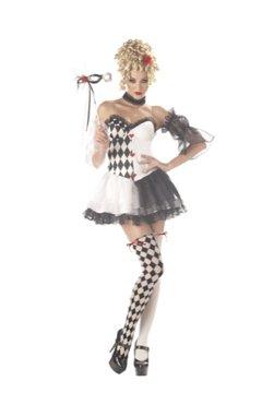 Le Belle Harlequin Burlesque Adult Costume Size: Medium #01066