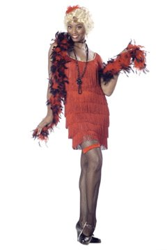 1920's Jazzy Baby Fashion Flapper Adult Costume Size: Medium #00837