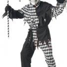 Circus Clown Evil Jester Clown Adult Costume Size: Medium #00928