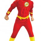 DC Comics Flash Justice League Deluxe Muscle Chest Costume Size: Medium #882308M