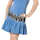 SMALL - ADULT Women Betty Rubble - Adult Flintstones Halloween Costume