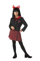Size: Large #00268 Wicked School Girl Child Costume