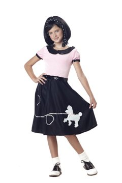 Poodle Skirt 50's Hop Child Costume Size:  X-Small #00230