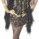 Jazzy Baby Fashion Flapper Adult Costume Size: Medium #01033