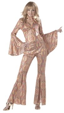 70's Discolicious Disco Adult  Costume Size: Small #00903