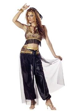Egyptian Dancer Adult Costume Size: Large #00795