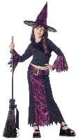 Jazzy Witch Child Costume Size: Medium #00559