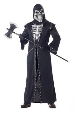 Demon Skeleton Warrior Crypt Master Adult Costume Size: Large #01522