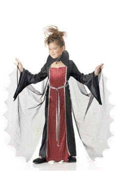Vampire Girl Child Costume Size: Large #00216