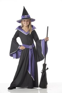 Incantasia, The Glamour Witch Child Costume Size: Large #00275