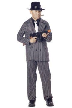 Gangster Mafia Child Costume Size: Large #00490