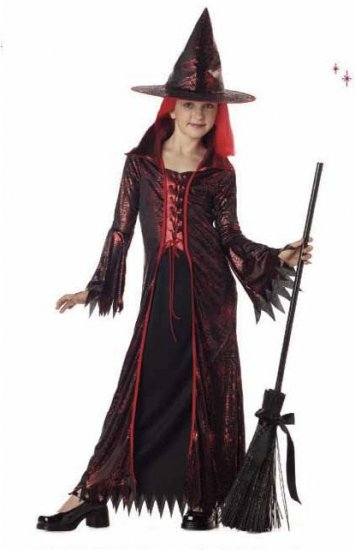 Devil Witch Child Costume Size: Large