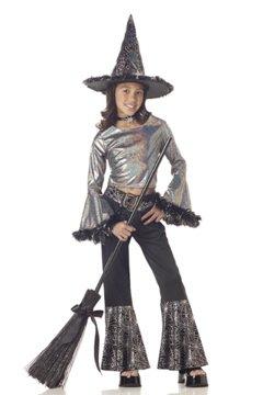 Hip Witch Child Costume Size: Medium