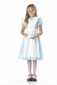 Alice in the Wonderland Child Costume Size: Large #00602
