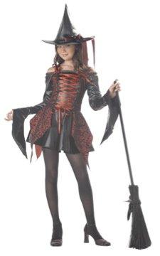 Abracadabra Witch Tween Child Costume Size: Medium #04010