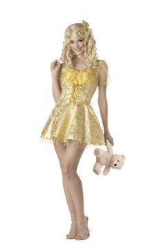Sexy Storybook Goldilocks Deluxe Adult Costume Size: Large #00901
