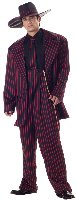 Zoot Suit Gangster Adult Costume Size: Large #01550