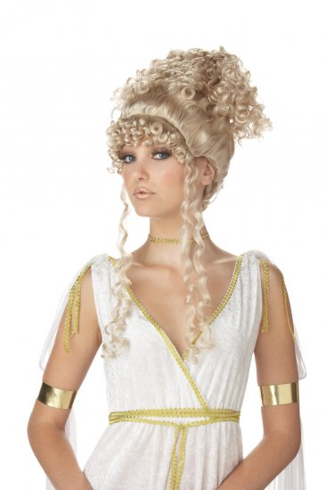 Roman Athenian Greek Goddess 300 Adult Costume Wig #70457