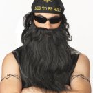 Biker Beard & Moustache Adult Costume Wig #70491