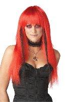 Punk Rock Chopstix Gothic Rock Star Costume Wig #70477