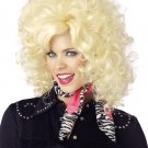 #70287  Country Western Dolly Parton Adult Costume Wig