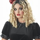 Crazy Doll Curly Adult Costume Wig #70407