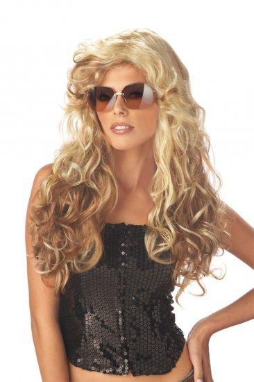 Sexy 70's Fashionista Rock Star Adult Costume Wig #70521