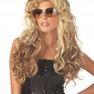 Sexy 70's Fashionista Rock Star Adult Costume Wig #70521